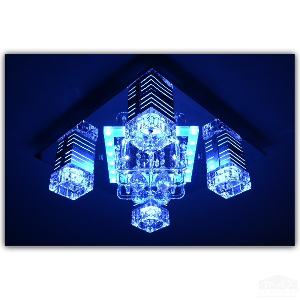 Deckenlampe deckenleuchte led lampe wohnzimmerlampe kris for Led wohnzimmerlampe