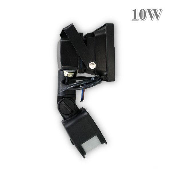 led fluter 10w bewegungsmelder strahler aussenleuchte wandleuchte scheinwerfer ebay. Black Bedroom Furniture Sets. Home Design Ideas