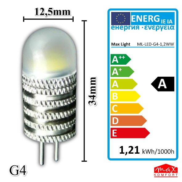 highpower led lampe 1 2w g4 stecklampe leuchtmittel kaltwei qualit tsartikel ebay. Black Bedroom Furniture Sets. Home Design Ideas
