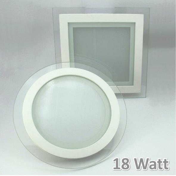 led panel einbaustrahler ultraslim glasrand aufputz wandleuchte deckenleuchte ebay. Black Bedroom Furniture Sets. Home Design Ideas